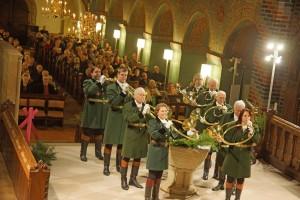 Hubertusmesse Stiftskirche Bücken 14-11-2015 b os