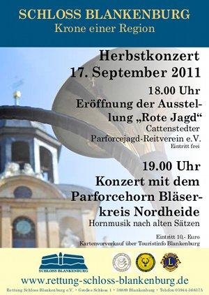 Konzert Schloß Blankenburg